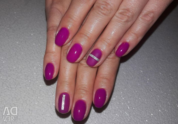 Manicure, gel polish