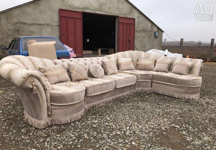 Sofa + Chair + Ottoman