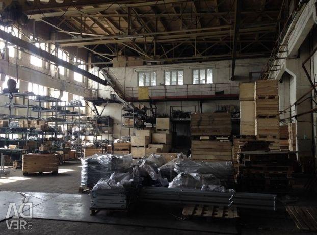 Complex industrial-depozit cu administrarea terenurilor