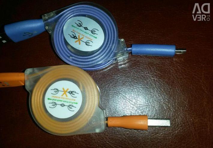 Cablu de încărcare micro-USB nou pentru telefon