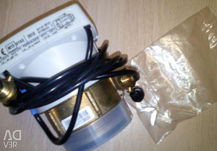 The heat meter Sensonic II 1,5m3 / h on the return 59121
