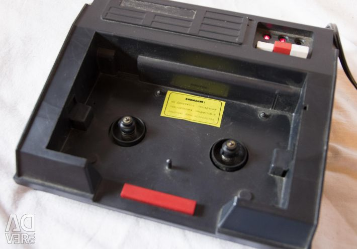 Soviet rewinder of video cassettes Electronics pv01