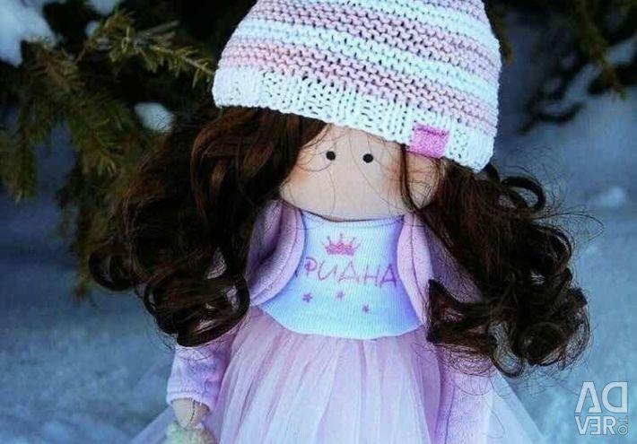 Named children's dolls to order