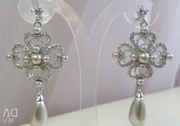 New wedding earrings