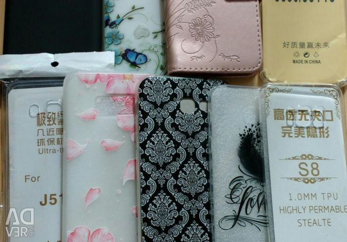 NEW covers and glasses on SAMSUNG GALAXY