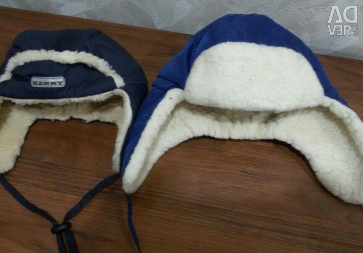 Winter children's hats