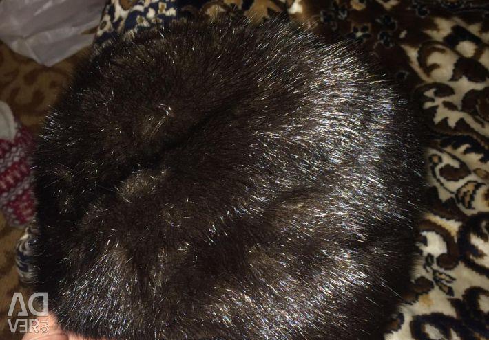 Cap state excellent mink