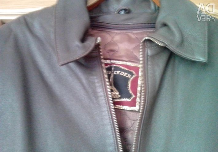 Leather jacket-NEW (Turkey)
