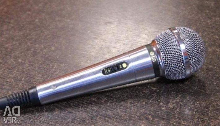 LG empedans 400 mikrofon