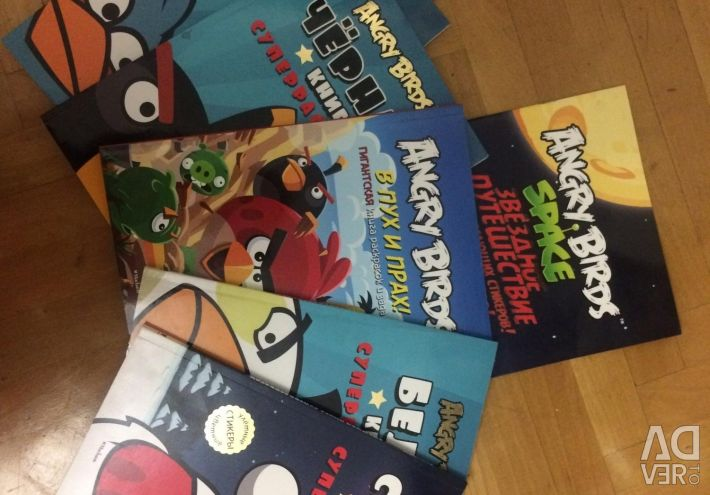 Coloring Angry Birds