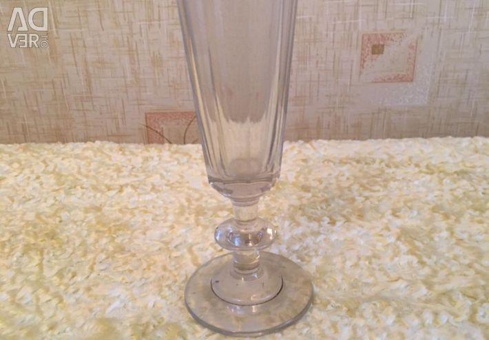 Wine glass Vintage. Retro