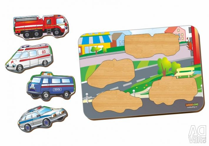 Special vehicles insert frame
