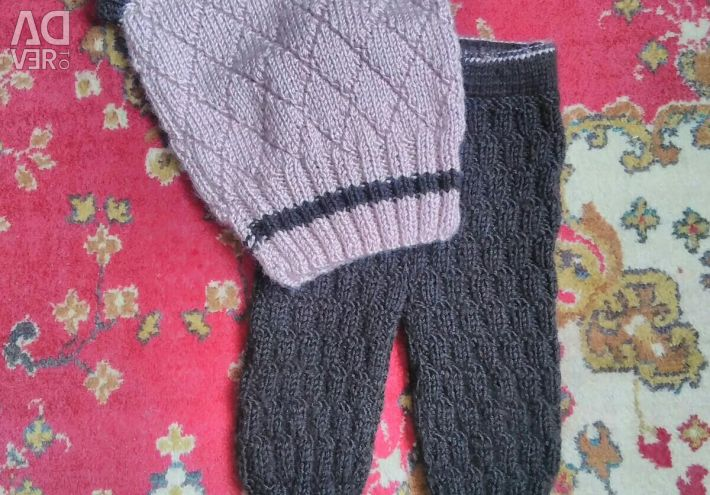 Knitted set