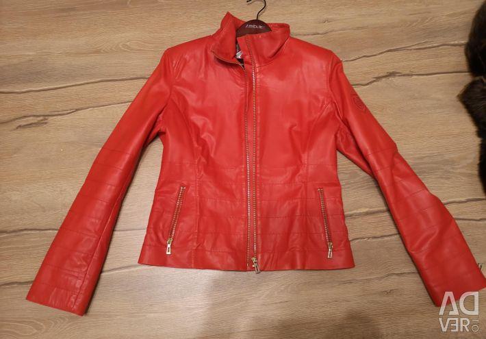 New leather jacket 44-46