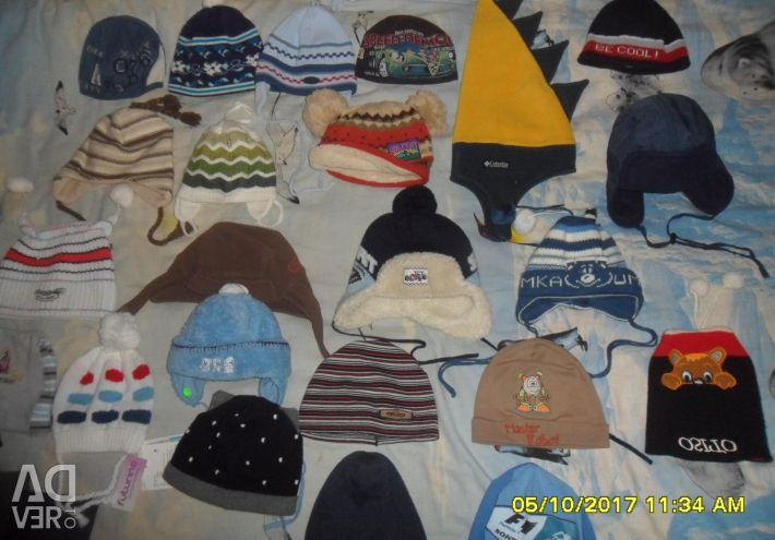 Πολλά - Πολλά όμορφα καπέλα.