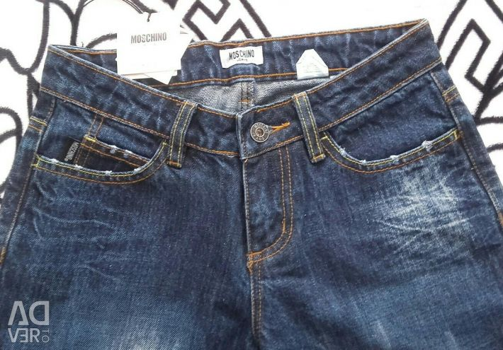 Jeans for women MOSCHINO) New!