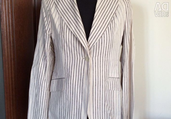 Jacket women new linen