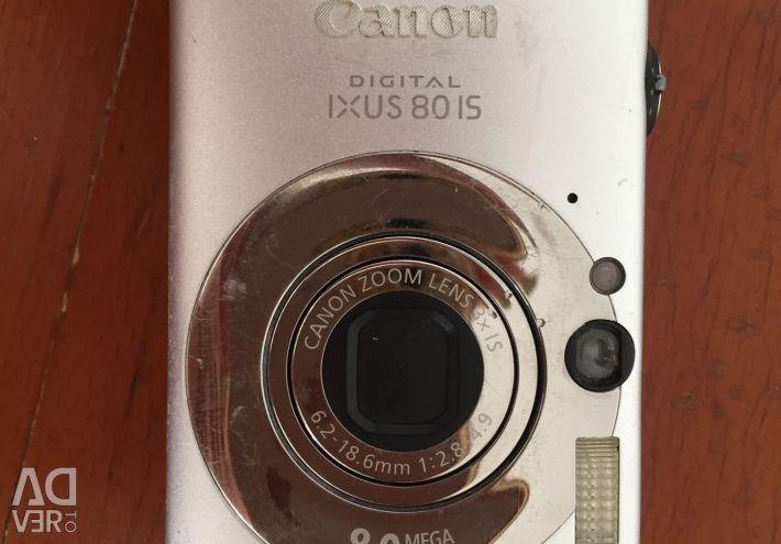 Canon digital camera ixus80is