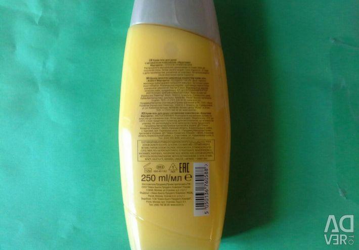 Гель для душа Апельсин-персик 250мл
