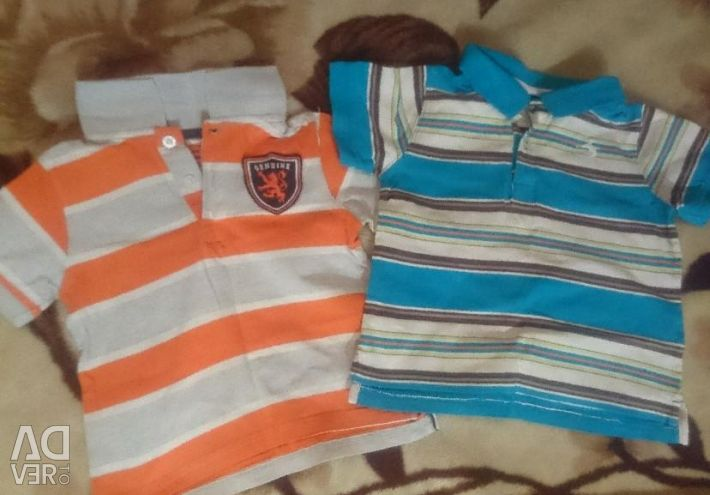 Children's blouses and t-shirts