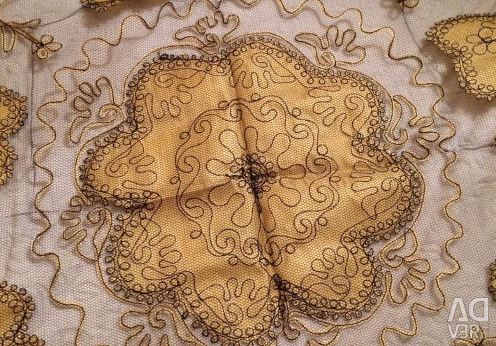 Original tablecloth round handwork Turkey