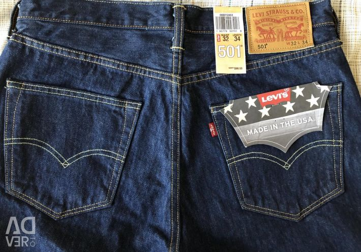 Jeans Levi's 501 from the USA