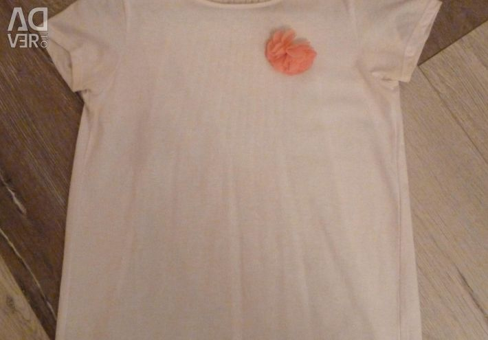 T-shirt Reserved elegant white