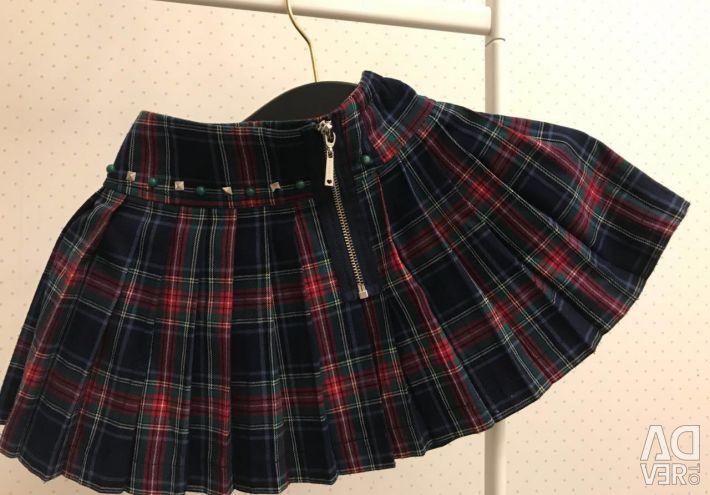 Спідниця для дівчинки. Шкільний одяг.