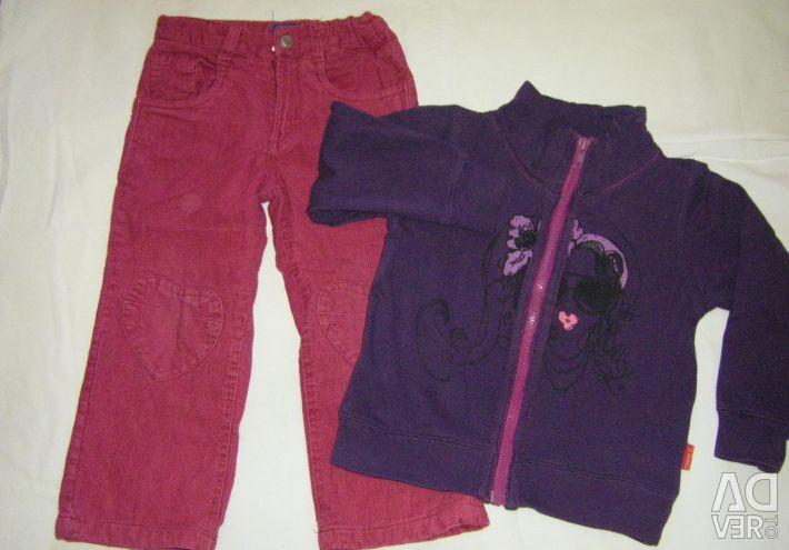 Pantaloni si blugi de 3-5 ani