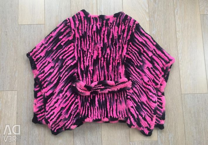 Poncho tricotate iepure Catherine noi