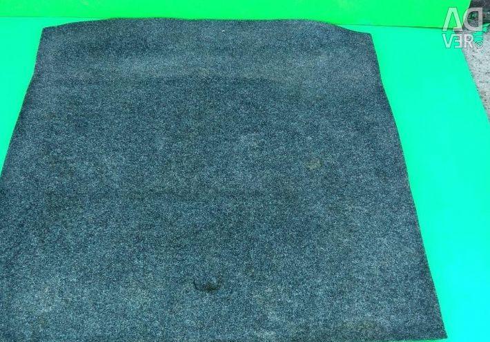 Trunk carpet for Skoda Octavia A7 station wagon