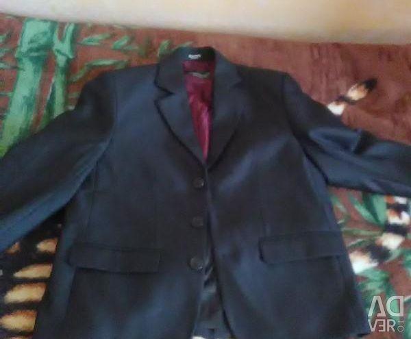 Пиджак новый школьный рост 134, торг
