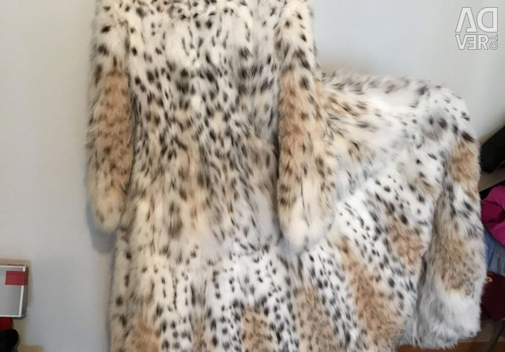 Lynx γούνινο παλτό της ιταλικής μάρκας BRASCHI