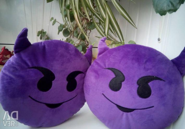 Pillow Smiley Imp