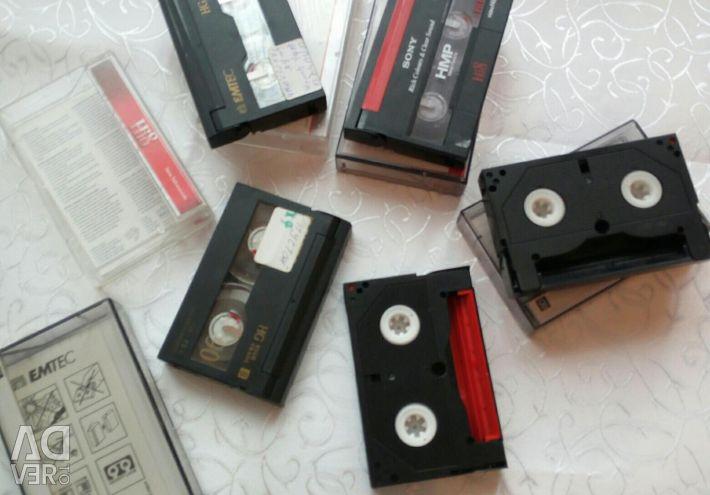 Video kamera kasetleri