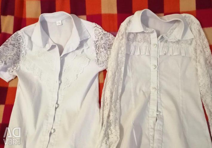 Блузки шкільні