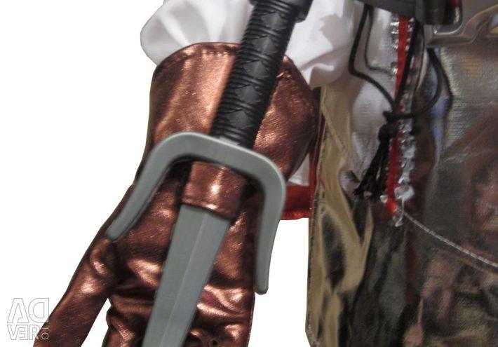 Assassin Costume, Warrior Assassin Costume
