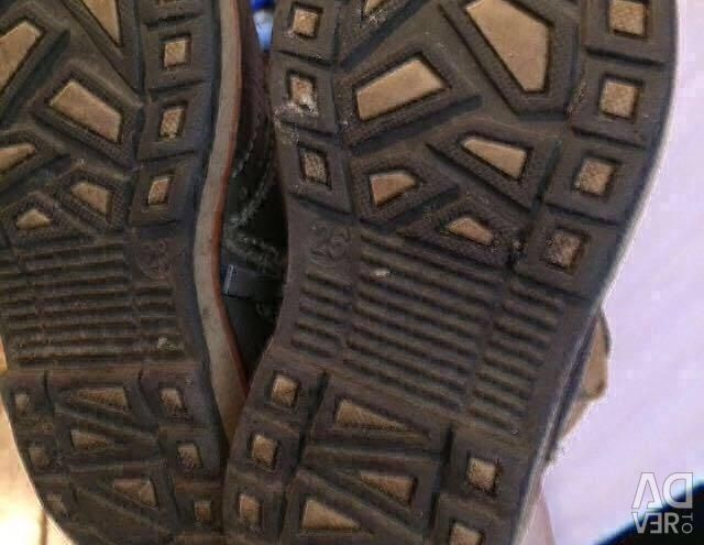 Δερμάτινα παπούτσια 26ρ