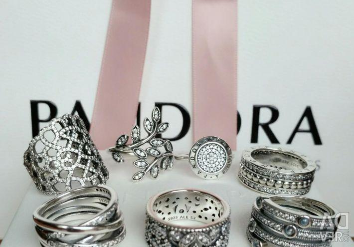 Pandora Rings New