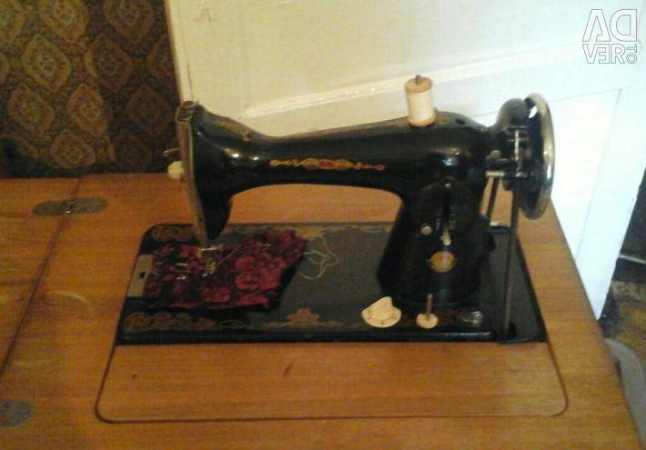 Working sewing machine