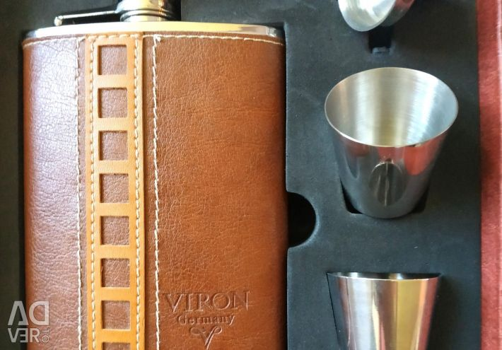 Flask for alcoholic beverages