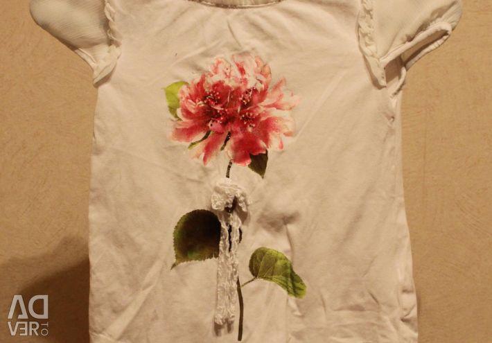 ✂️ Mayoral T-shirt (flower print)