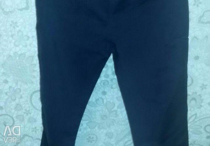 High rise pants