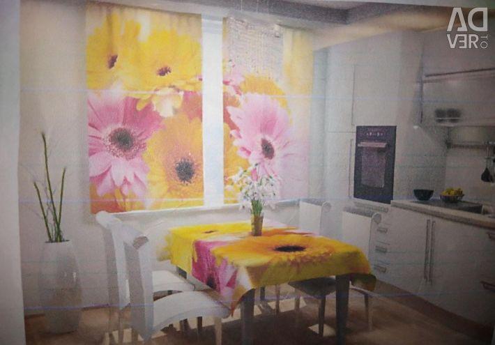 Tablecloth. New. 145 * 145