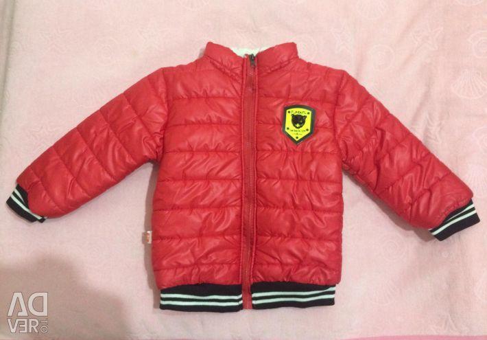 The jacket is new, demi-season