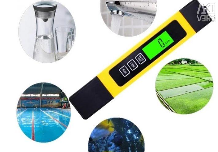 Digital TDS метр TDS / EC / LED / TEMP meter (hold)