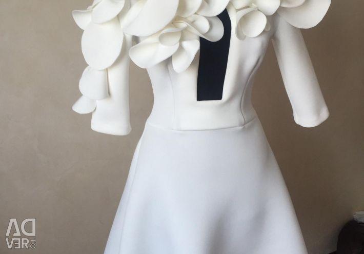 Платье эксклюзив цветы