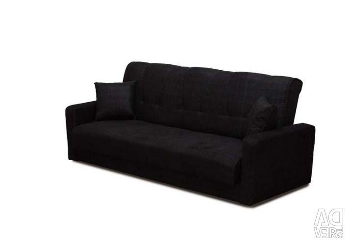 Sofa Milan Black