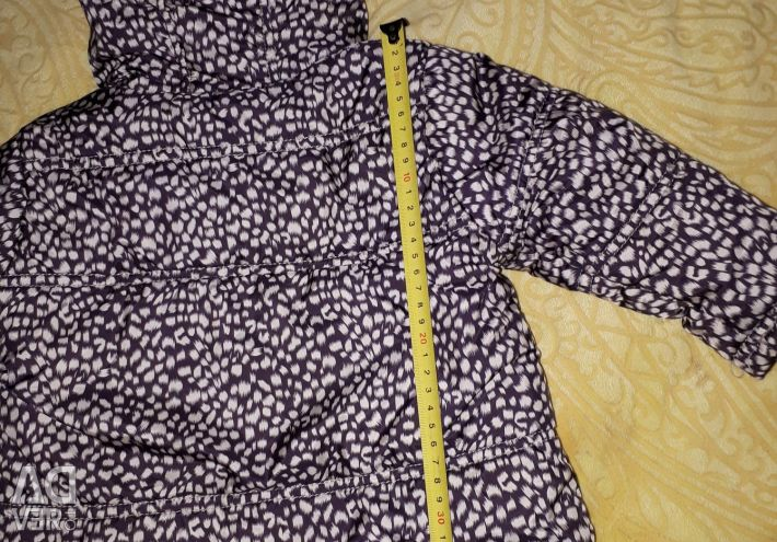 Jacket for a girl in the spring
