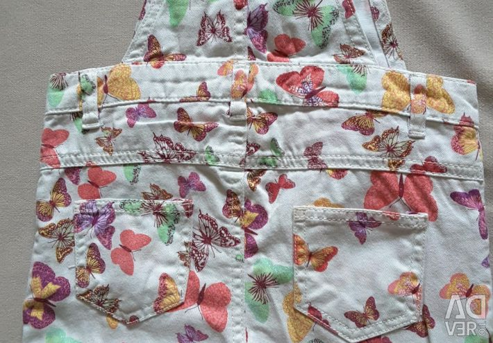 Jumpsuit - shorts at 86 height (18 - 24 months.)